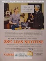 RARE Esquire Advertisement AD 1941 CAMEL cigarettes WWII Era - $9.00