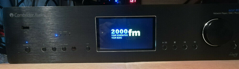 Cambridge Audio Azur 851N Awesome Network Player, Upsampling DAC, and Preamp