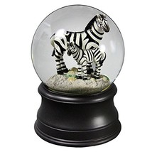 Zebra Mom Water Globe from San Francisco Music Box Company - $50.06