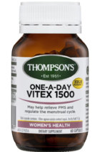 Thompson's One-a-day Vitex 1500mg 60 Capsules - $174.75