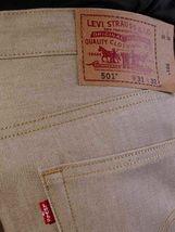 Levi's 501 Men's Original Fit Straight Leg Jeans Button Fly 501-0988 image 5