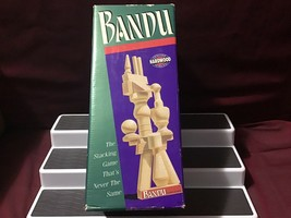 Milton Bradley 1991 Bandu the Stacking Game That's Never the Same - $39.60