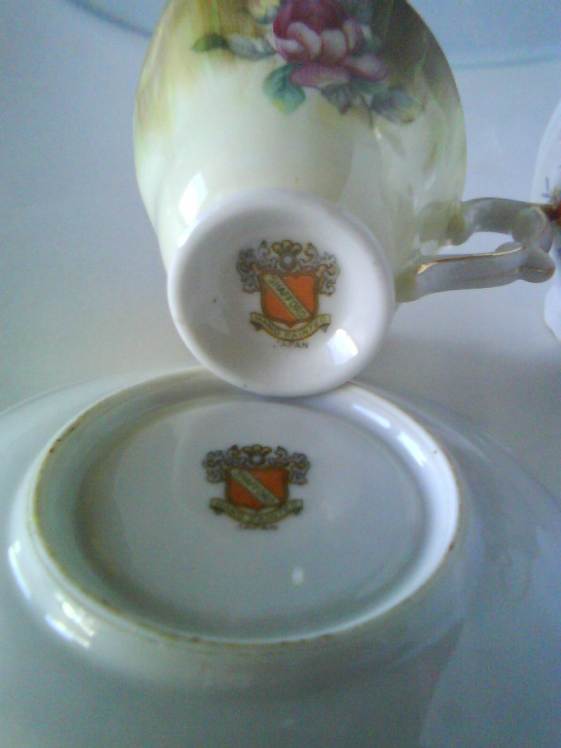 Shafford mini coffee or tea cup with saucer