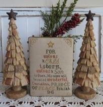 Christ-Mas Tree holiday cross stitch chart Stitches Through Time  - $9.00