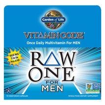 Garden of Life - Vitamin Code RAW ONE Men's Multivitamin - 75 Capsules - $35.99