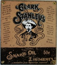 Clark Stanley's Snake Oil Liniment Porcelain Sign - $29.95