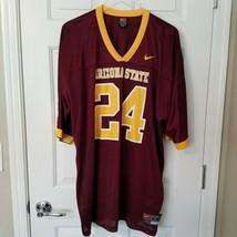 Arizona State Sun Devils ASU Football Adult XXL Jersey #24 Nike Team App... - $27.72