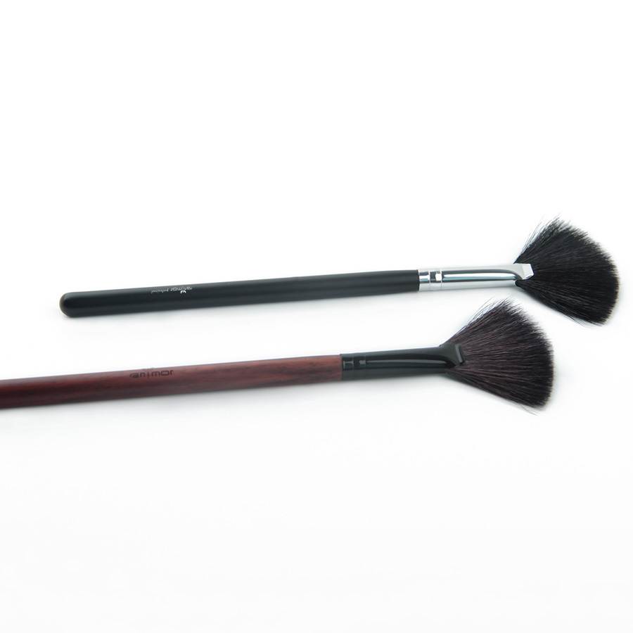 Goat Hair Fan Brush High Quality Make Up Brushes for Daily or Professional