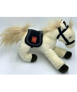 Wells Fargo El Toro Legendary Pony Horse Cream Brown Plush Stuffed Anima... - $17.99