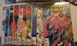 justice league (international) #2, 3, 4, 5, 6, 7, 8, 9, 10, 11, - $21.00