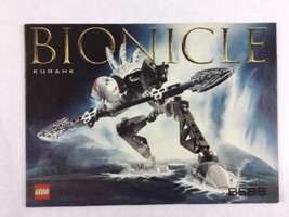 Lego Bionicle Kurahk - Set 8588 Instructions / Manual / Only  - Year 2003 - $5.00