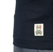 Men's Psycho Bunny Short Sleeve Tee Newbold Graphic Tee Logo Navy T-Shirt image 3