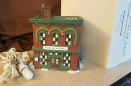 Dept 56 New England Village 1995 WOODBRIDGE POST OFFICE 56572 Retired 1998 - $19.95