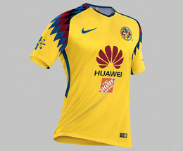 Nike Club Aguilas del America Official 2017 2018 Third Soccer Jersey - $88.99