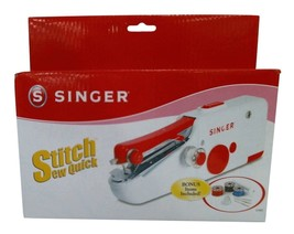 Singer Stitch Sew Quick Portable Compact Hand Held Sewing Machine - $27.71