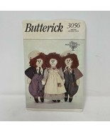 Butterick 3056 American Rag Doll Sewing Pattern - $2.96