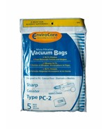 Sharp Canister Type PC-2 Vacuum Cleaner Allergy Bags 10PK - $10.84