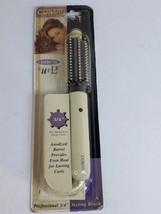 Vintage NOS 1998 Conair Curls ' N Curls 3/4 inch styling brush Model BC4... - $29.79