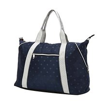 Navy Dot,Fashionable WaterProof High Capacity Baby Bottle Tote Bag