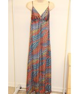 NWT PILYQ Barcelona Swimsuit Bikini Cover Up Maxi Dress Sz M/L Multi - $60.84