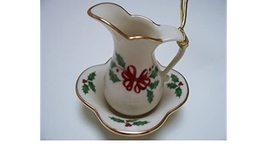 Lenox Holiday Pitcher & Bowl Ornament - $30.00