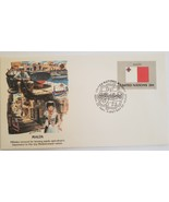 First Day of Issue United Nations Flag Series 1981 - Malta - $3.95