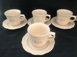 Pfaltzgraff  Remembrance Design Coffee Cups and Saucers - $30.35