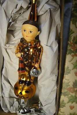DEBBEE THIBAULT SPIRIT OF JACK HAND BLOWN ORNAMENT