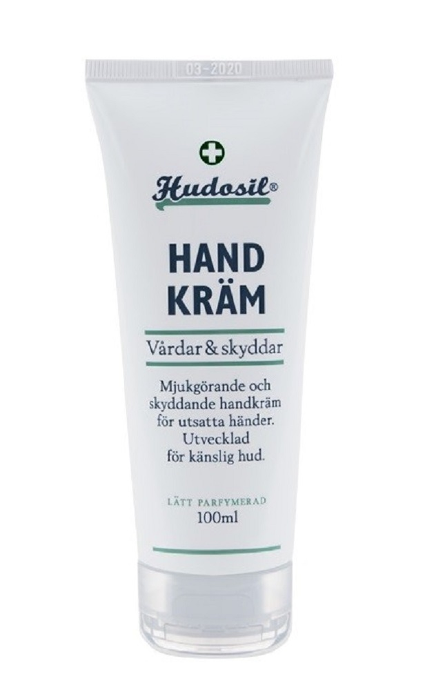 Primary image for Hudosil Hand Cream 100 ml/3.4oz Made in Sweden