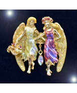 HAUNTED NECKLACE ANGEL PROTECTION OF YOUR RELATIONS SECRET MAGICK OOAK M... - $3,077.77