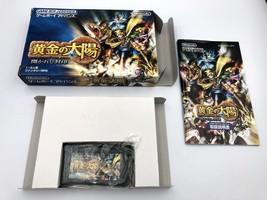 Golden Sun Game Boy Advance Japan COMPLETE Japanese CIB GBA RPG Ougon no... - $30.35