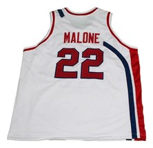 Moses Malone #22 Utah Stars New Men Basketball Jersey White Any Size image 2