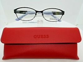 GUESS GU 2353 (BLK) Black 53 x 16 135 mm Eyeglass Frames - $39.96