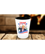 Donald Trump President 2020 Tweets Bird Shot Glass Collectors Man Cave Gift - $11.99