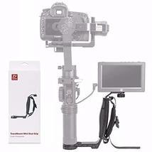Zhiyun Mini Dual Grip, Transmount Single Handle Grip L Bracket Rig 1/4 S... - $55.05