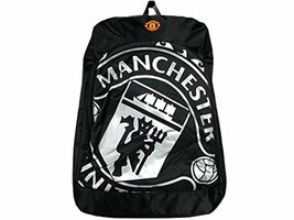 Manchester United FC - Authentic  Quality Black Backpack - ₹1,932.75 INR