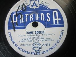 "10"" 78 rpm RECORD ARTRANSA A-016 BOBBY LIMB HOME COOKIN / I WANNA BE LOVED - £8.20 GBP"