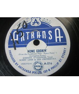 "10"" 78 rpm RECORD ARTRANSA A-016 BOBBY LIMB HOME COOKIN / I WANNA BE LOVED - £7.59 GBP"