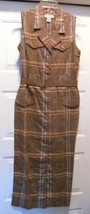 Express Campagnie Internationale Dress Sleeveless Ankle Long Jacquard/St... - $59.95