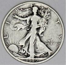 1919-S Walking Liberty Half Dollar; Choice Original F-VF   - $247.49