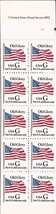 US Stamp - 1994 (32c) G Rate, Black G - Booklet of 10 Stamps #2881a - $9.99