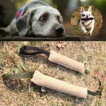 1pc Dog Bite Tug Training Toy Durable Stick Puppy Pet Biting Playing Schutzhund - $7.99