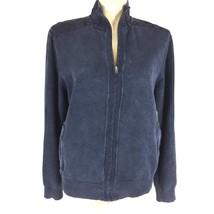 NEW Calvin Klein Jeans XL Jacket Modern Casual Ombre Blue Denim Zip Pock... - $39.95