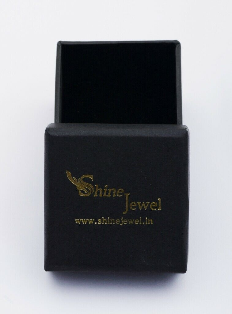 Shine Jewel Marquise Amethyst White Topaz 925 Silver Side Stone Purple Ring