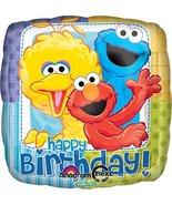Anagram International Sesame Street Birthday Foil Balloon Pack, Multicolor - $4.94
