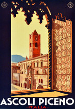 "16x20""Poster on Canvas.Home Room Interior design.Travel Italy.Ascoli.6545 - $46.75"