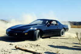 David Hasselhoff Driving Knight Rider Trans Am Pontiac Firebird Car 18x2... - $23.99
