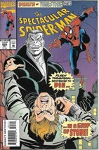 The Spectacular Spider-Man Comic Book #205 Marvel Comics 1993 VERY FINE - $2.25