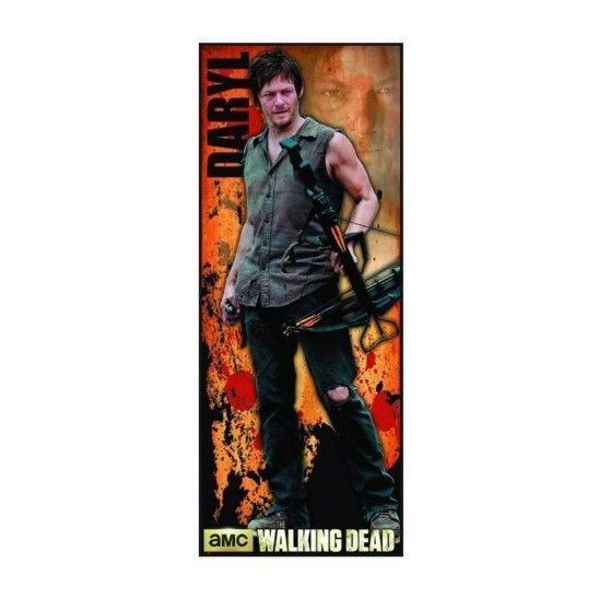 "The Walking Dead 2013 Lifesize poster Daryl Dixon 30"" X 76"" huge factory sealed - $24.98"