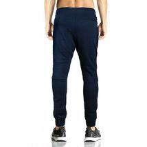 Men's Athletic Running Sport Workout Fitness Gym Zip Pocket Jogger Sweat Pants image 10